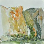 wapama-falls-hetch-hetchy-reservoir-watercolor-on-paper