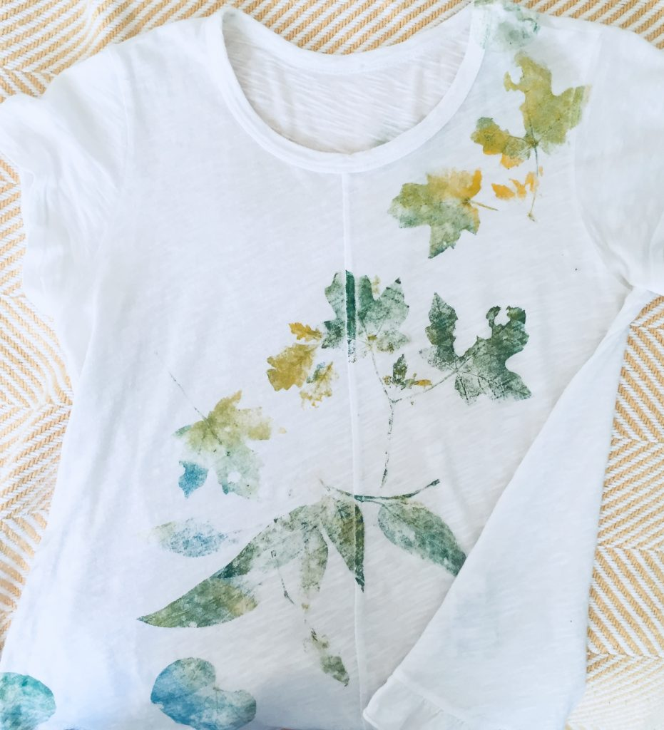 Nature leaves shirt